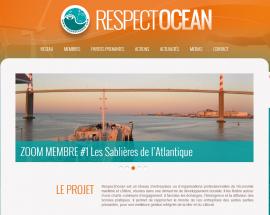 Site WordPress Respect Océan