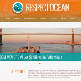 Site WordPress Respect Océan