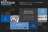 Site La Boutique - territoires-laboutique.com