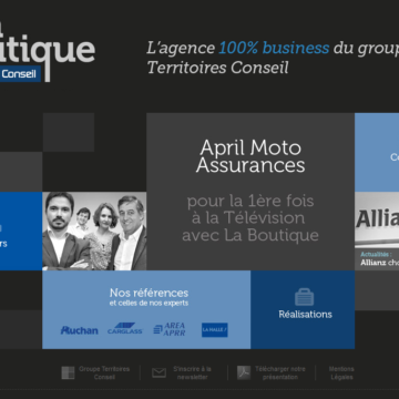 Site La Boutique - territoires-laboutique.com