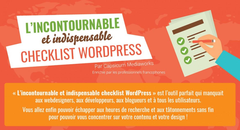 Présentation CheckList WordPress 2015 Fr