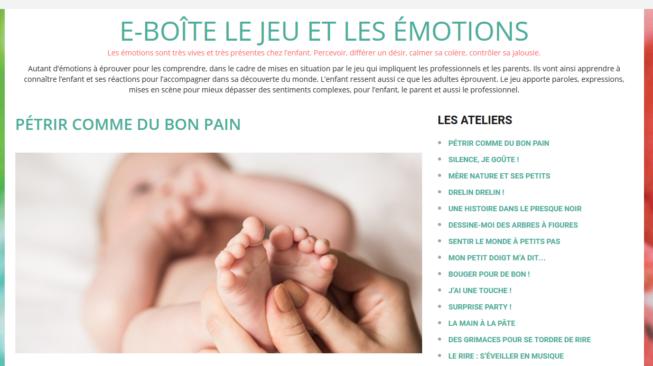 e-Boîtes familles jeu emotions